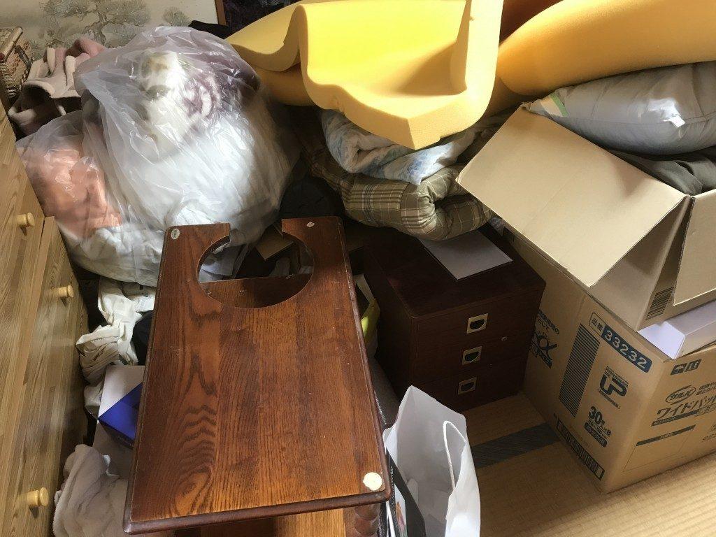 【登米市】遺品整理で大量の不用品回収