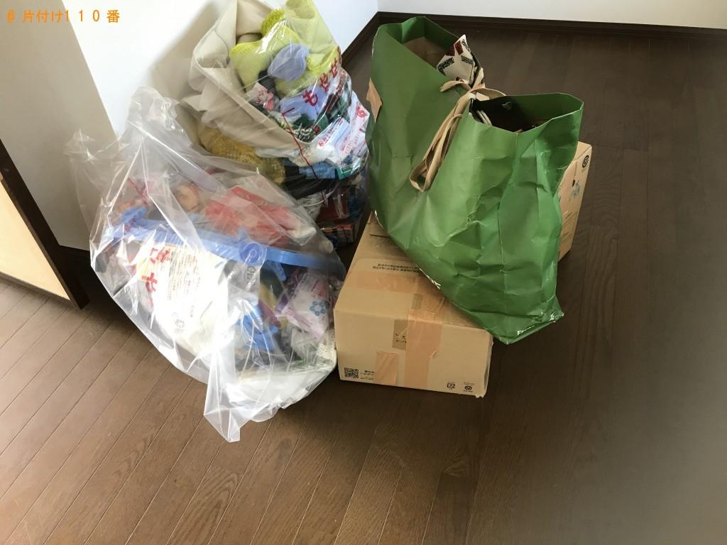 【南三陸町】袋ごみと布団の出張回収・処分ご依頼 お客様の声