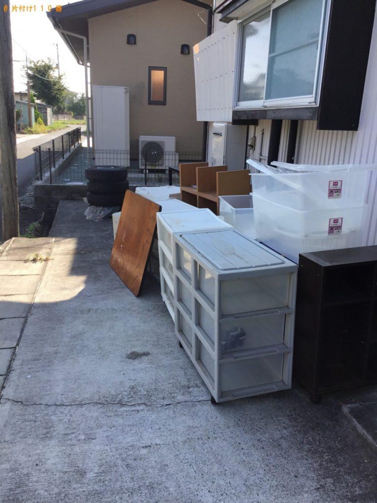 冷蔵庫、洗濯機、収納ケース等の回収・処分 お客様の声