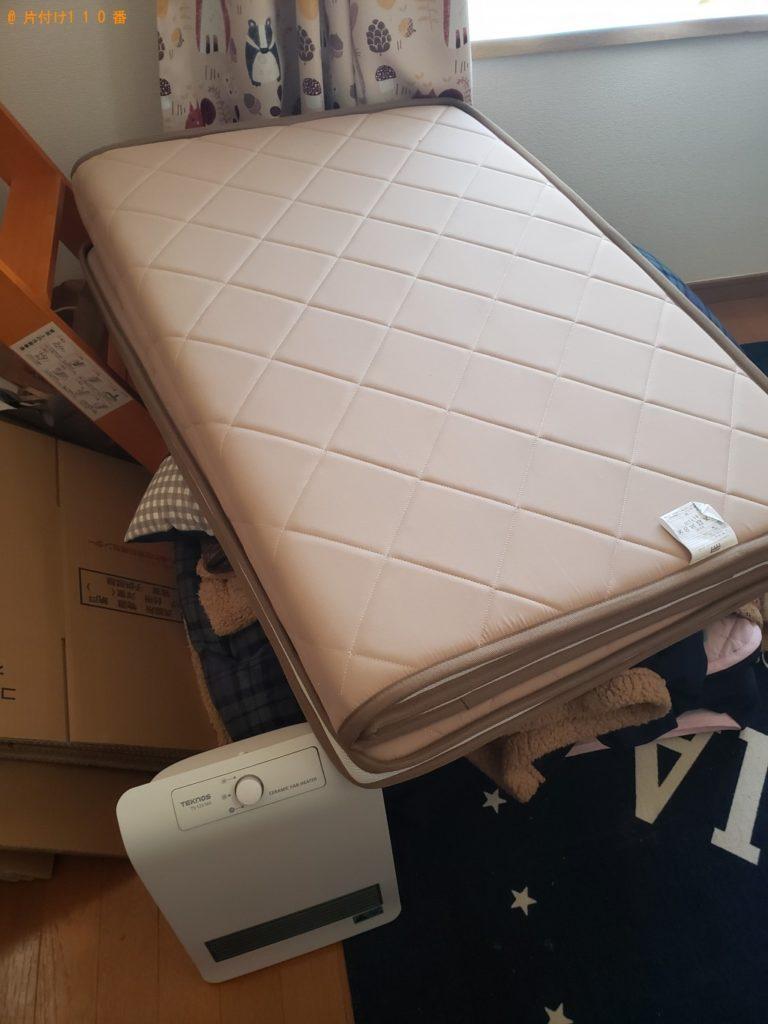 【宮城県加美町】ファンヒーター、カーペット、自転車等の回収・処分