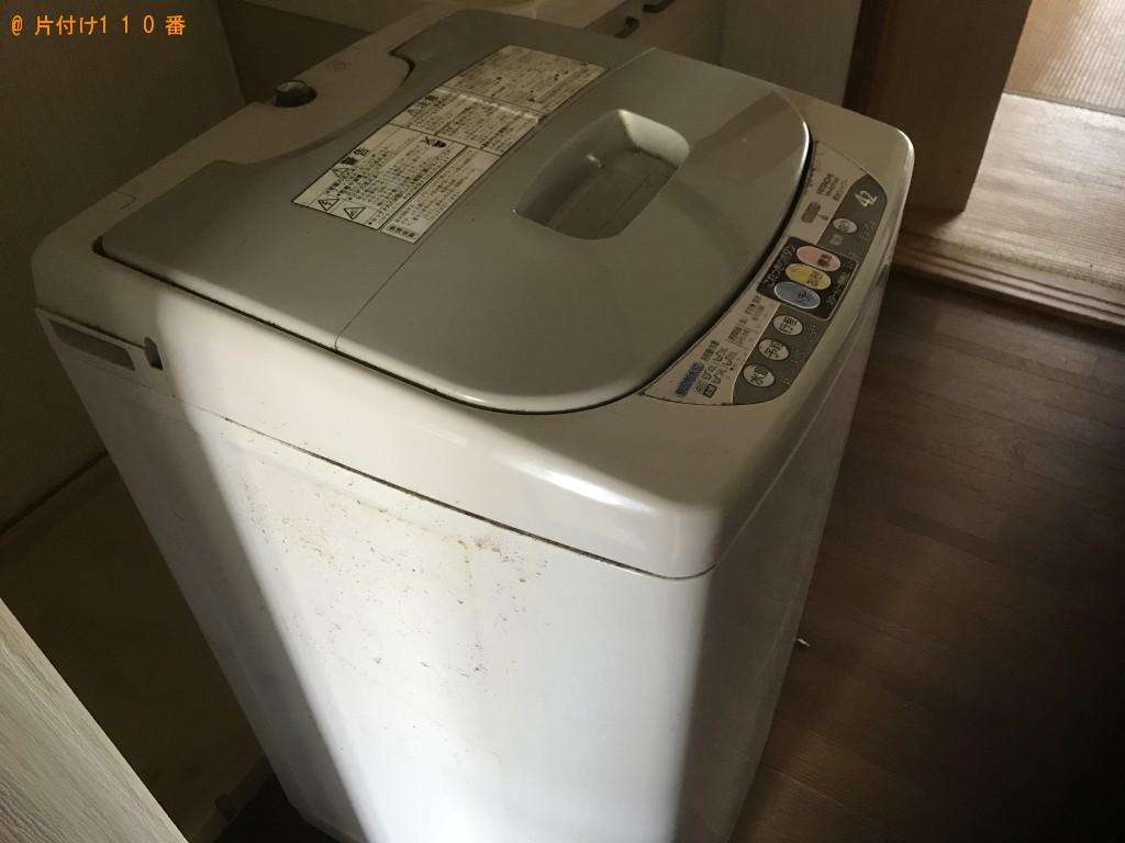 【大崎市】冷蔵庫、洗濯機、ファンヒーター、こたつ、本棚等の回収