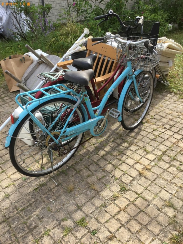 【大崎市】遺品整理に伴い自転車、布団、テレビ、椅子、物干し台等の回収・処分