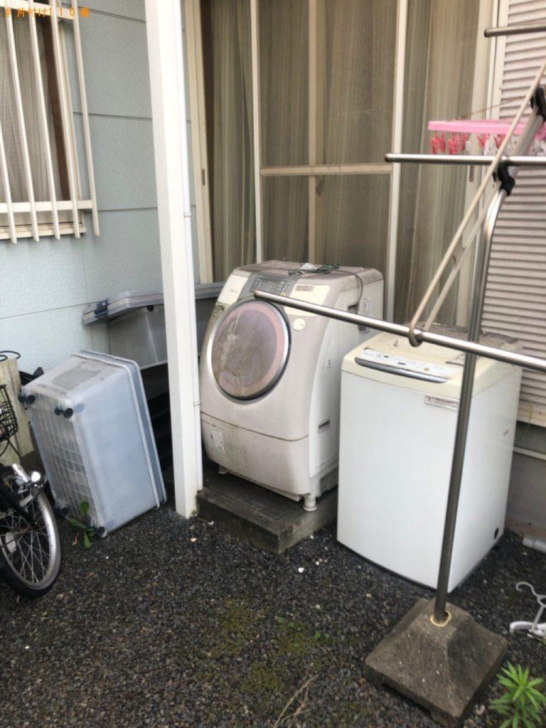 【塩竈市】洗濯機、タンス、テレビ台、ドラム式洗濯乾燥機の回収