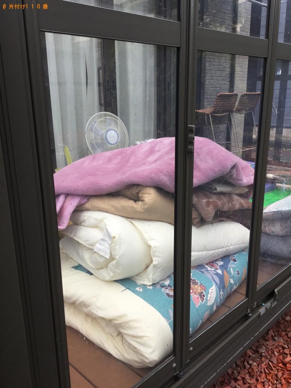 【大崎市】布団、ゴミ箱、扇風機等の回収・処分ご依頼 お客様の声