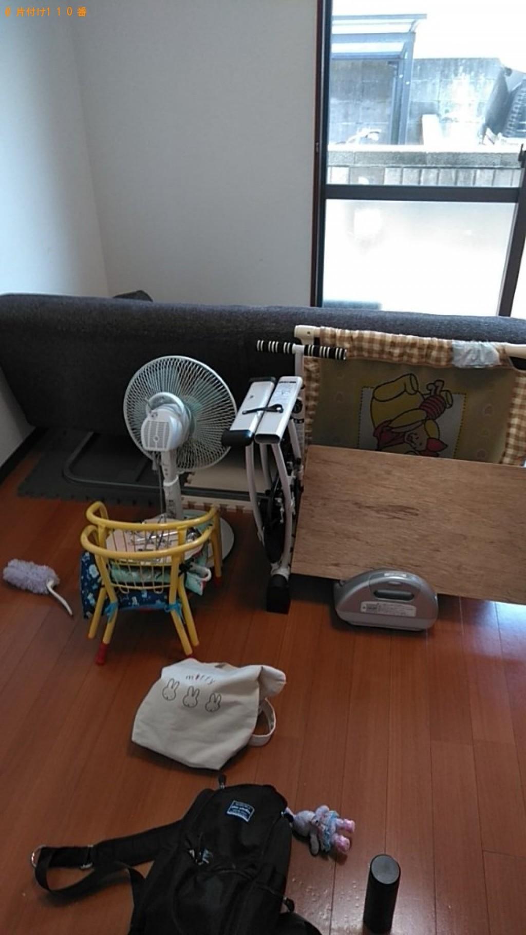 【宮崎市】ソファー、扇風機、椅子等の回収・処分ご依頼 お客様の声