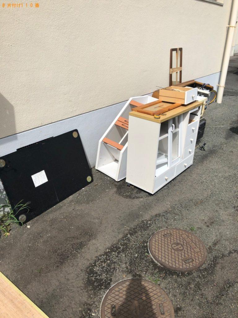【柴田町】こたつ、タンス、カラーボックス、テレビ台の回収・処分