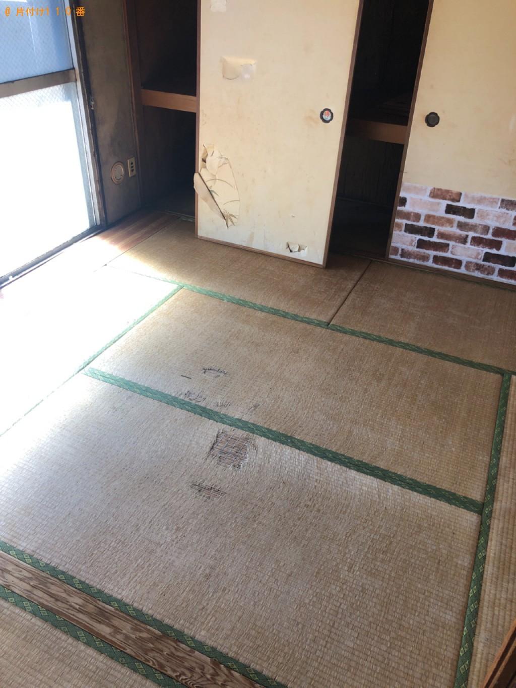 【仙台市】四人用ダイニングテーブル、カラーボックス等の回収・処分