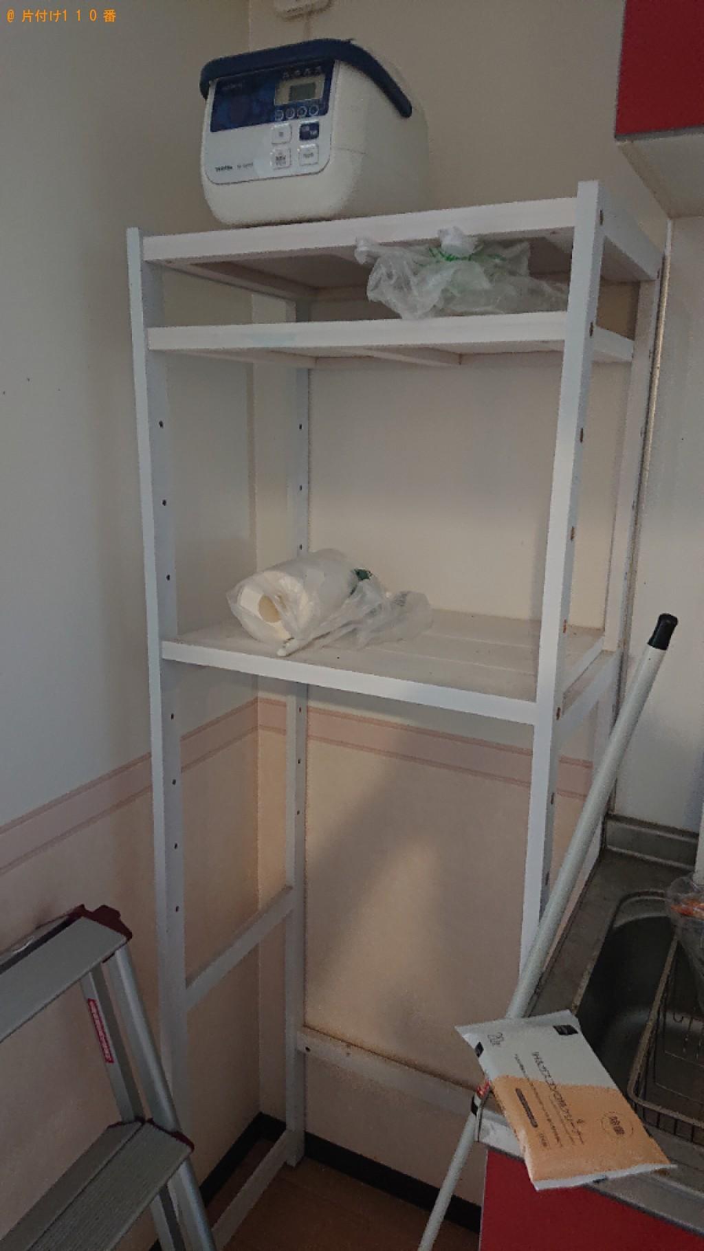 【仙台市】洗濯機、クローゼット、テレビ台、レンジ台等の回収・処分
