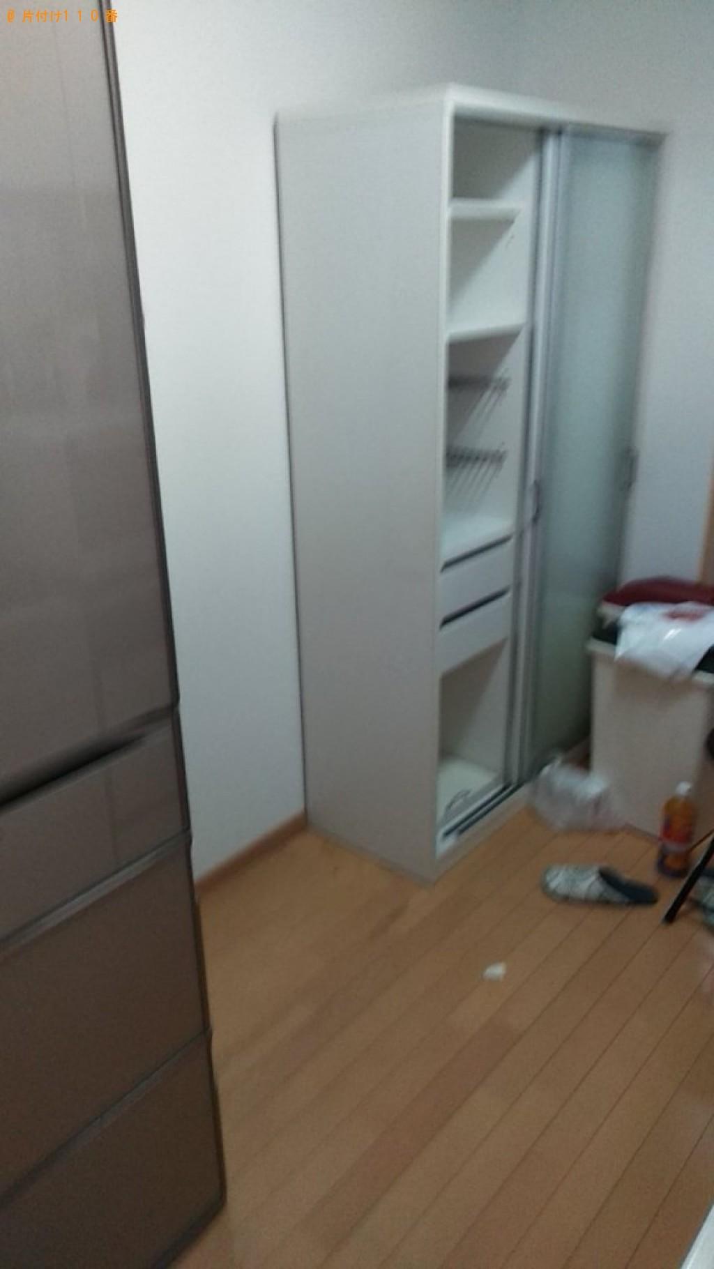 【仙台市】食器棚、二人用ダイニングテーブル、自転車等の回収・処分