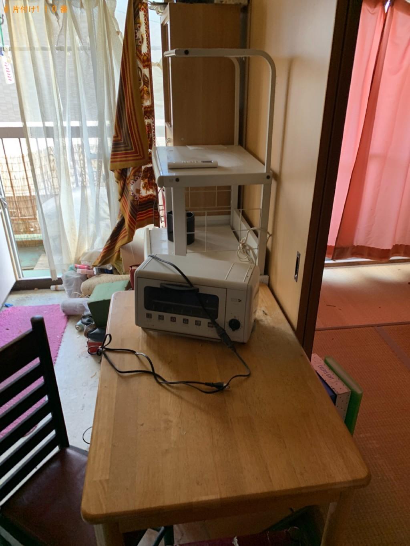 【仙台市】二人用ダイニングテーブル、布団、ダンボール等の回収