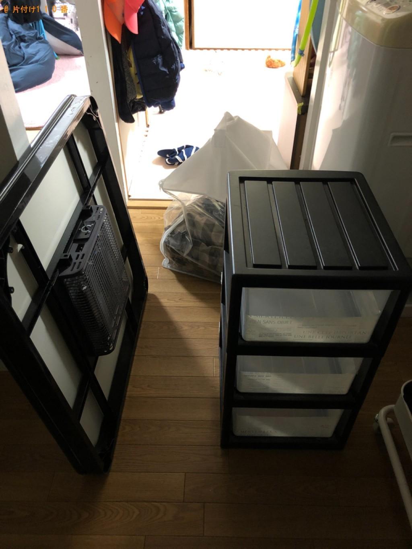 【仙台市】こたつ、衣装ケース、布団の回収・処分ご依頼 お客様の声