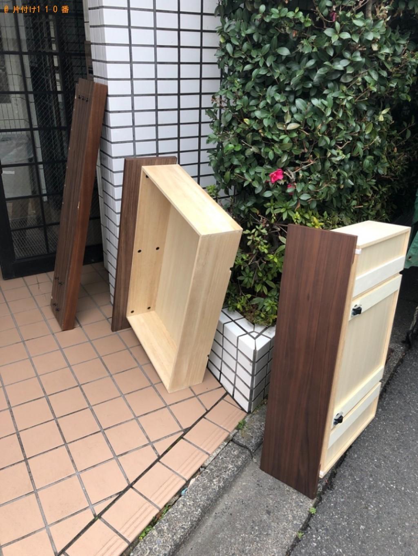 【仙台市】マットレス付きセミダブルベッドの回収・処分ご依頼