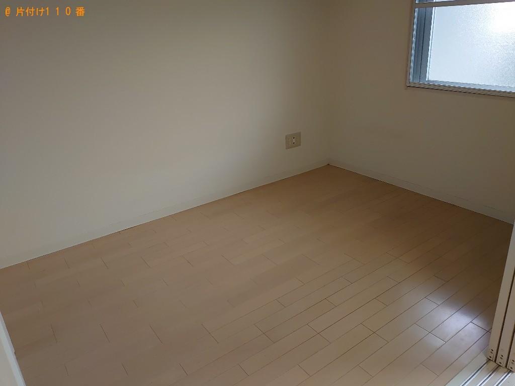 【仙台市】本棚、カーペット、マットレス付きシングルベッド等の回収
