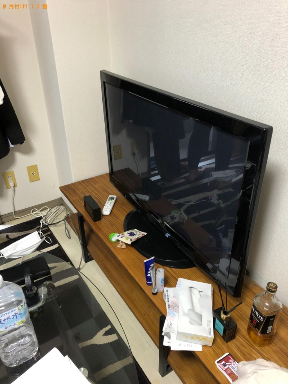 【仙台市】冷蔵庫、テレビ、ローテーブルの回収・処分ご依頼