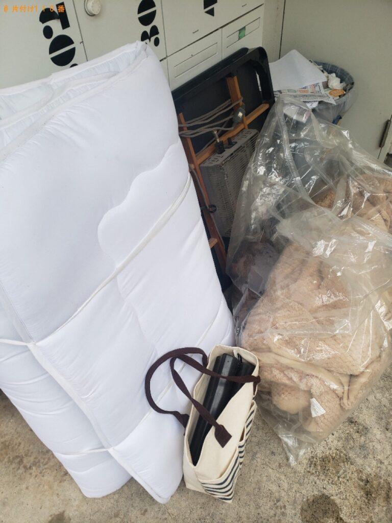 こたつ、ウレタンマットレス、布団の回収・処分
