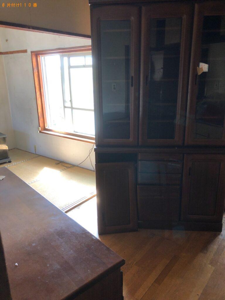 タンス、食器棚、テレビ台、下駄箱等の回収・処分ご依頼