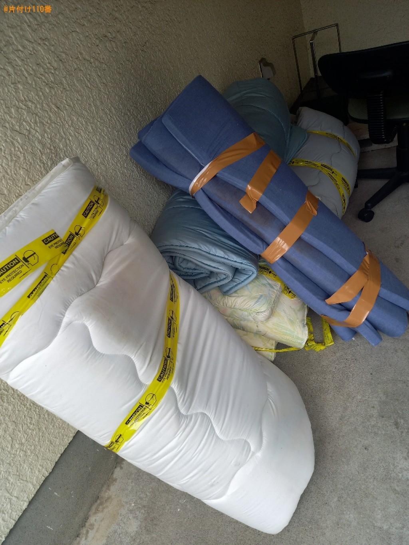 マットレス付きシングルベッド、布団の回収・処分ご依頼 お客様の声